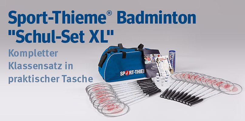 "Sport-Thieme Badminton ""Schul-Set XL"" - Kompletter Klassensatz"