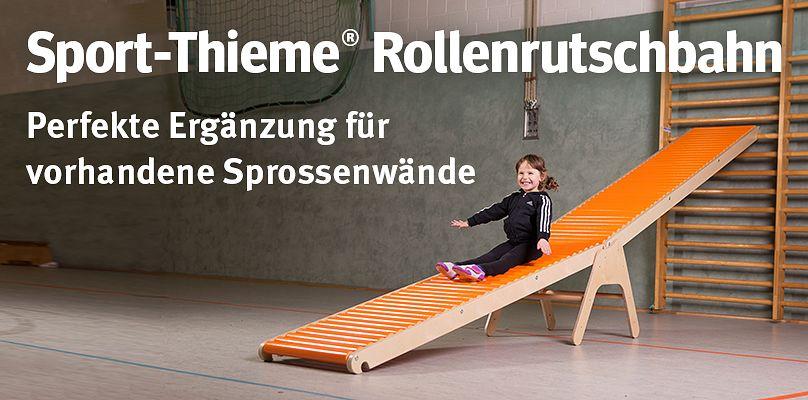 Sport-Thieme Rollenrutschbahn - Perfekte Ergänzung für vorhandene Sprossenwände