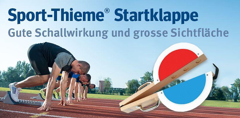 Sport-Thieme Startklappe - Gute Schallwirkung und grosse Sichtfläche