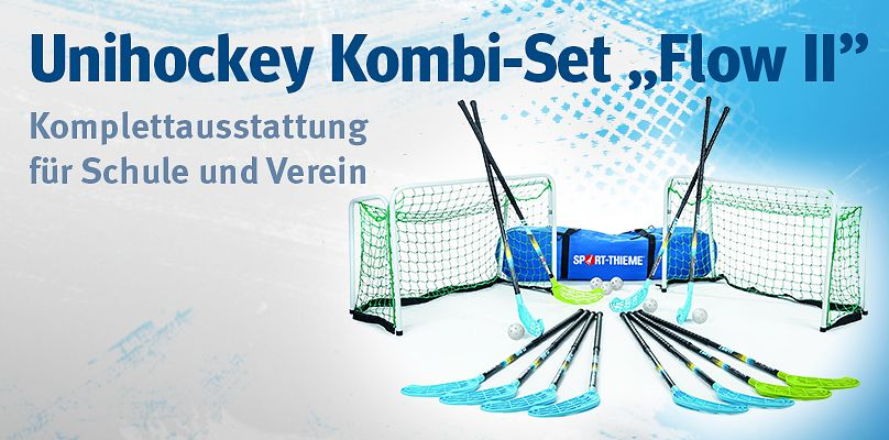 "Unihockey Kombi-Set ""Flow II"" bei Sport-Thieme"