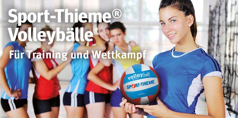 Sport-Thieme® Volleybälle: Für Training und Wettkampf