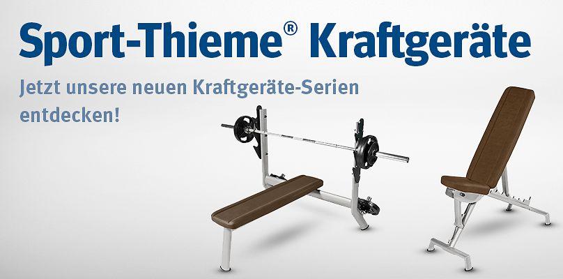 Sport-Thieme Kraftgeräte: Die neuen Kraftgeräte-Serien