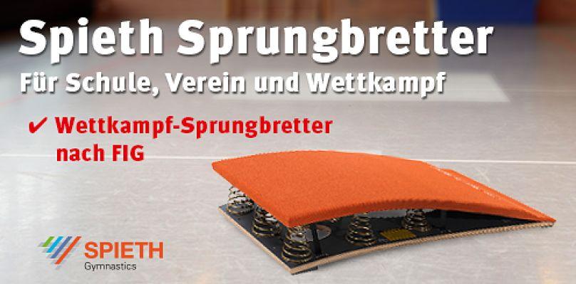 Spieth® Sprungbretter - Für Schule, Vereine und Wettkampf