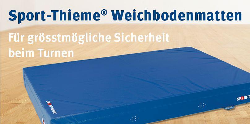Sport-Thieme Weichbodenmatten - Für grösstmögliche Sicherheit beim Turnen
