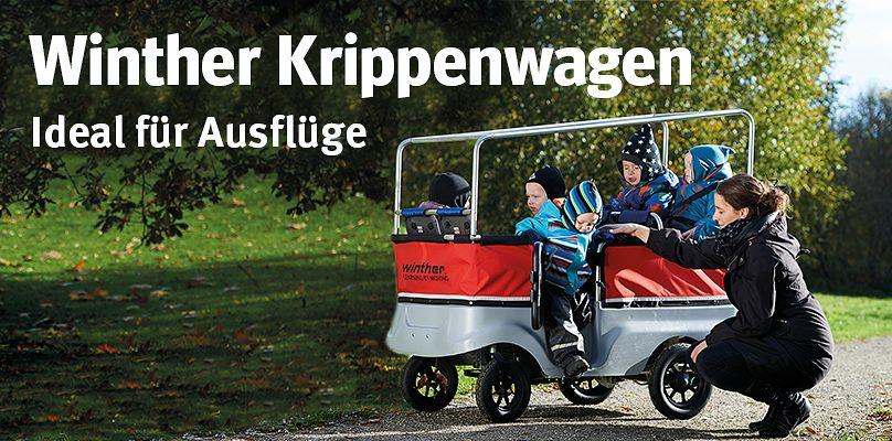 Winther® Krippenwagen - Ideal für Ausflüge