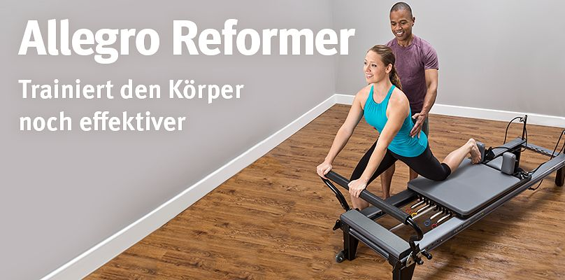 Allegro Reformer - Trainiert den Körper noch effektiver