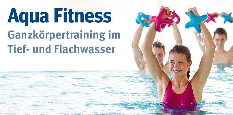 Aqua Fitness - Ganzkörpertraining im Tief- und Flachwasser