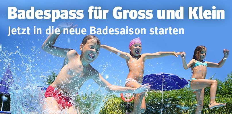 Badespass für alle!