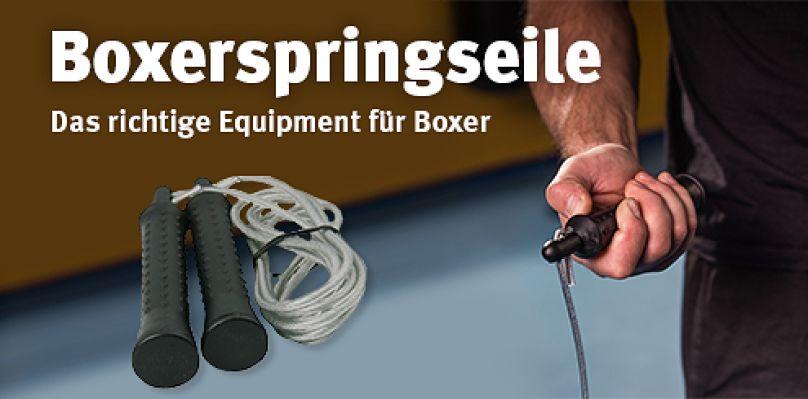 Boxspringseile - Das richtige Equipment für Boxer
