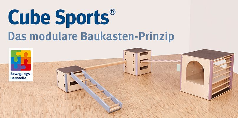 Cube Sports® U3 - Modulares Baukasten-Prinzip