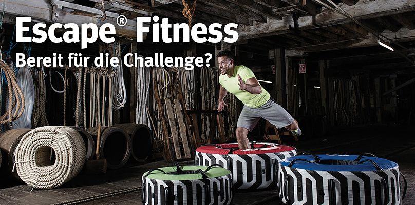 Escape Fitness - Bereit für die Challenge?