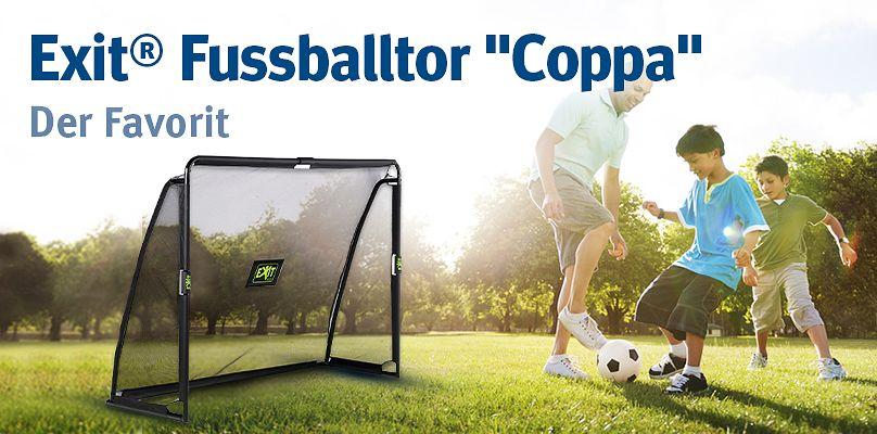 """Exit® Fussballtor """"Coppa"""": Der Favorit"""