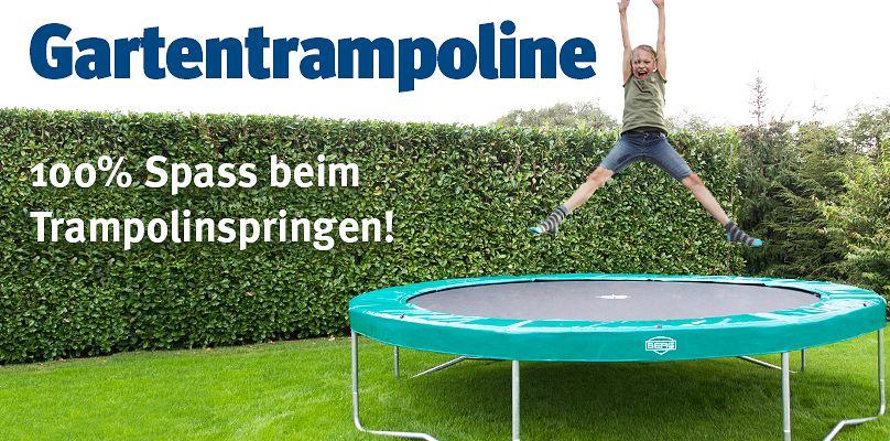 Gartentrampoline - 100% Spass beim Trampolinspringen!