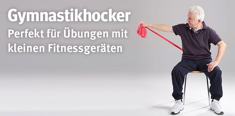 Gymnastikhocker - Perfekt für Übungen mit kleinen Fitnessgeräten