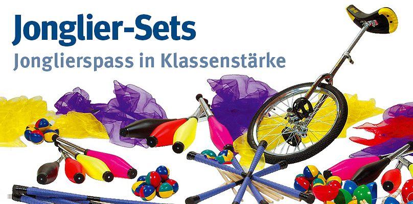 Jonglier-Sets: Jonglierspass in Klassenstärke