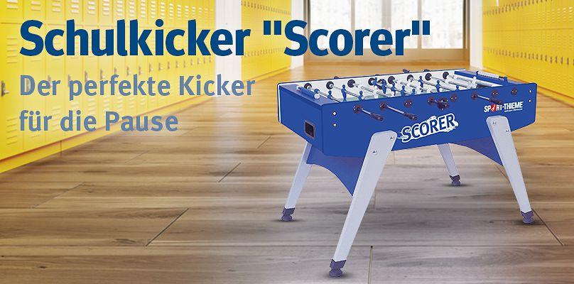 """Sport-Thieme® Schulkicker """"Scorer"""" - Der perfekte Kicker für die Pause"""