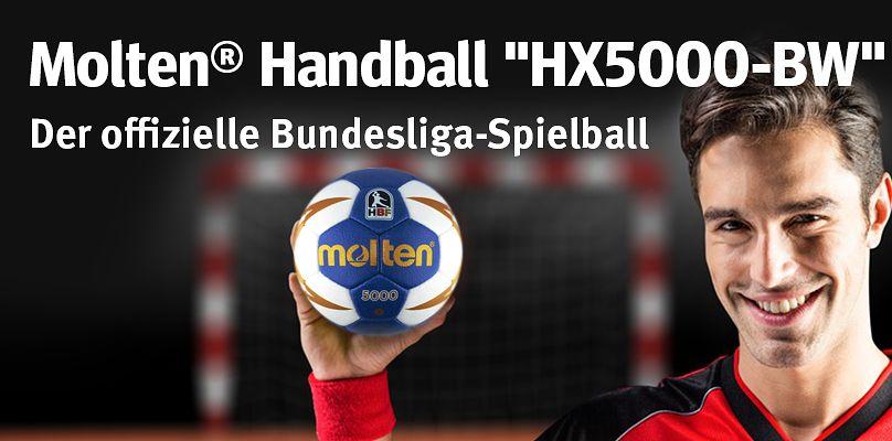 """Molten® """"HX5000-BW"""": Der offizielle Bundesliga-Handball"""
