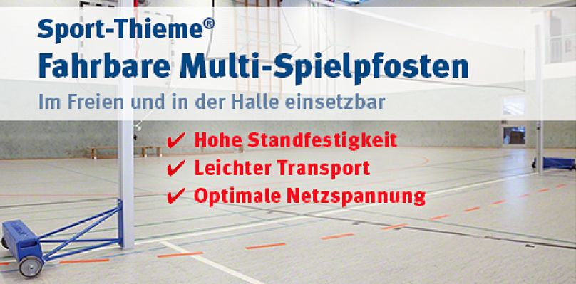 Sport-Thieme® Fahrbare Multi-Spielpfosten