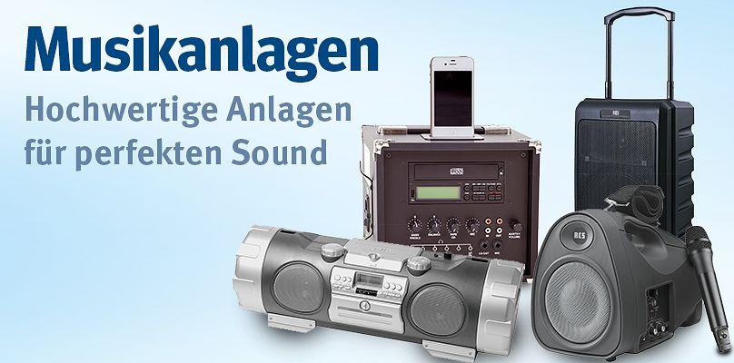 Hochwertige Musikanlagen für perfekten Sound