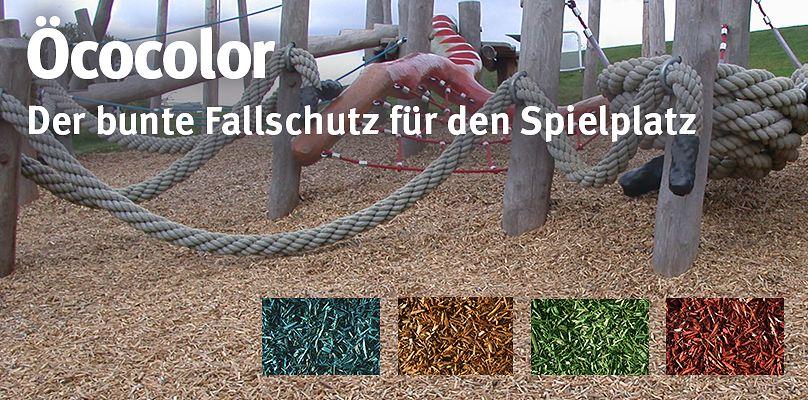 Öcocolor - Der bunte Fallschutz für den Spielplatz