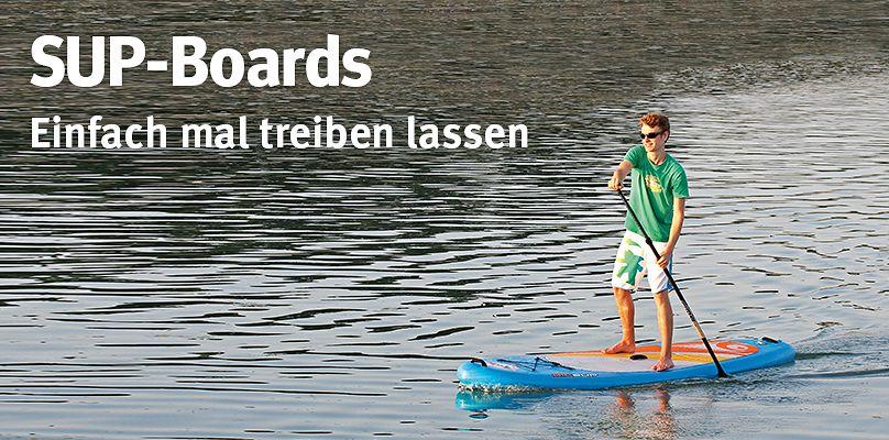 SUP-Boards - Einfach mal treiben lassen