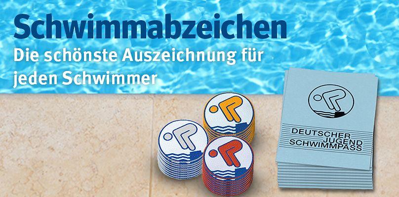 Schwimmabzeichen - Die schönste Auszeichnung für jeden Schwimmer
