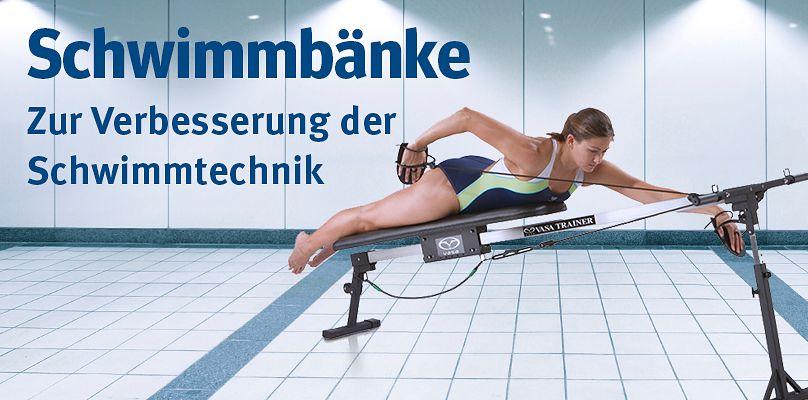 Schwimmbänke - Zur Verbesserung der Schwimmtechnik