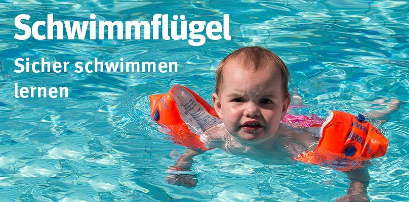 Schwimmflügel - Sicher schwimmen lernen