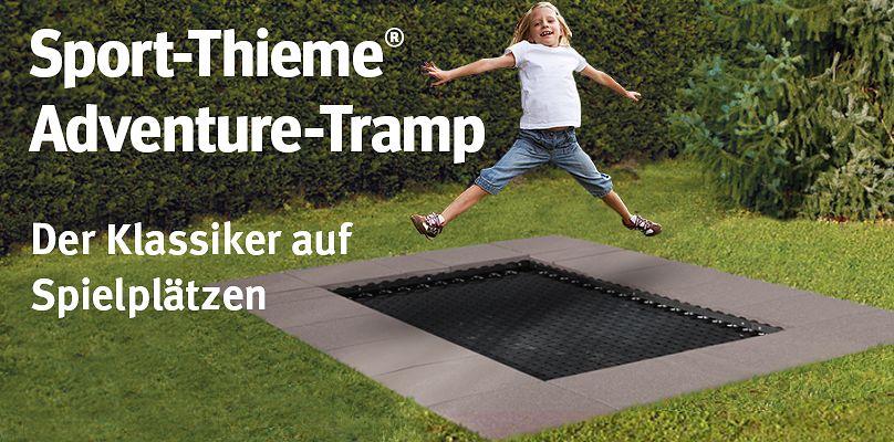 Sport-Thieme Adventure-Tramp - der Klassiker auf Spielplätzen
