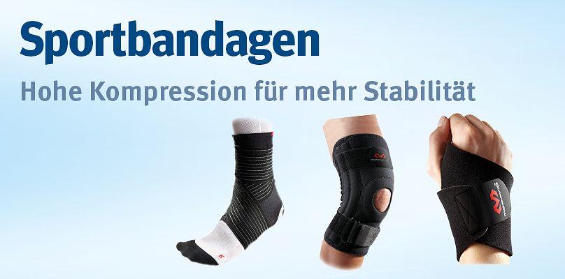 Sportbandagen - Hohe Kompression für mehr Stabilität