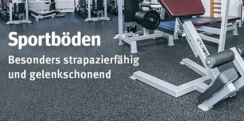 Sportböden - Besonders strapazierfähig und gelenkschonend