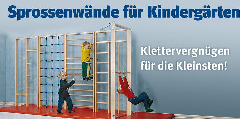 Sprossenwände Kindergarten - Klettervergnügen für die Kleinsten