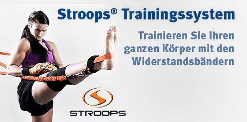 Stroops® Trainingssystem - Trainieren Sie Ihren ganzen Körper mit den Widerstandsbändern