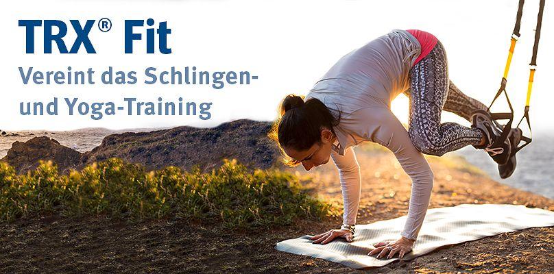 Vereint Schlingen- und Yoga-Training