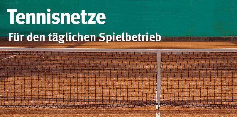Tennisnetze - Für den täglichen Spielbetrieb