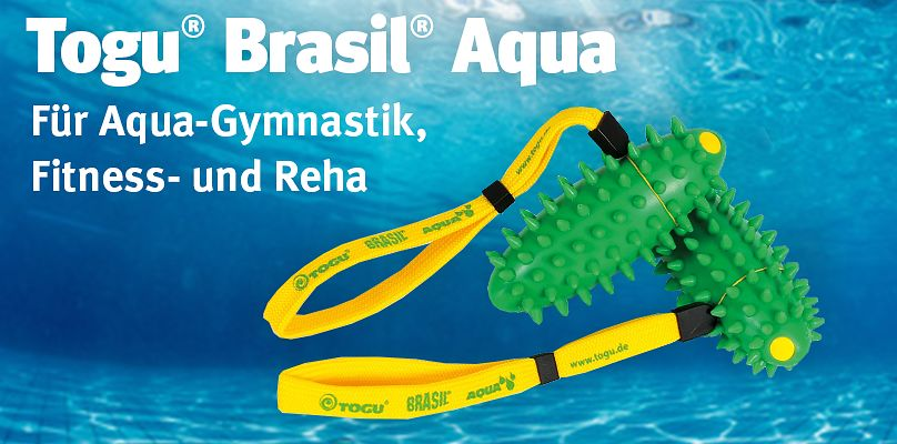 Für Aqua-Gymnastik, Fitness und Reha