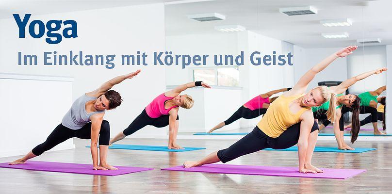 Yoga - Im Einklang mit Körper und Geist