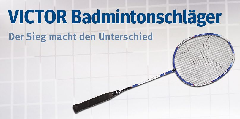 Victor® Badmintonschläger