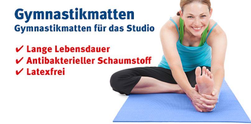 Gymnastikmatten für das Studio