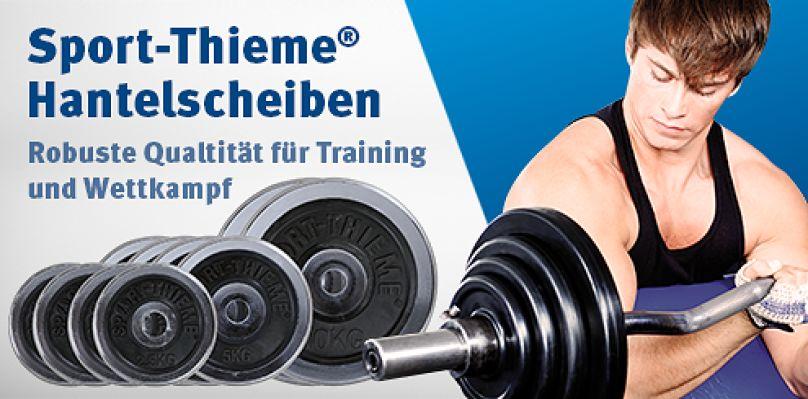 Sport-Thieme Hantelscheiben - Robuste Qualität für Training und Wettkampf