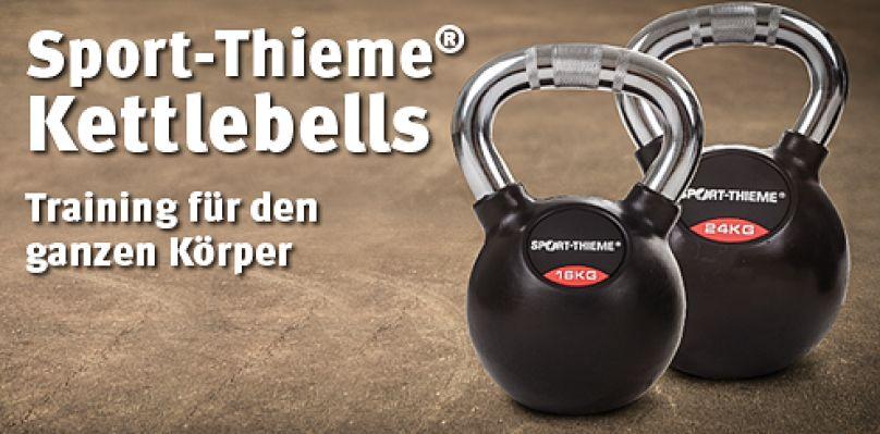 Sport-Thieme® Kettlebells - Training für den ganzen Körper
