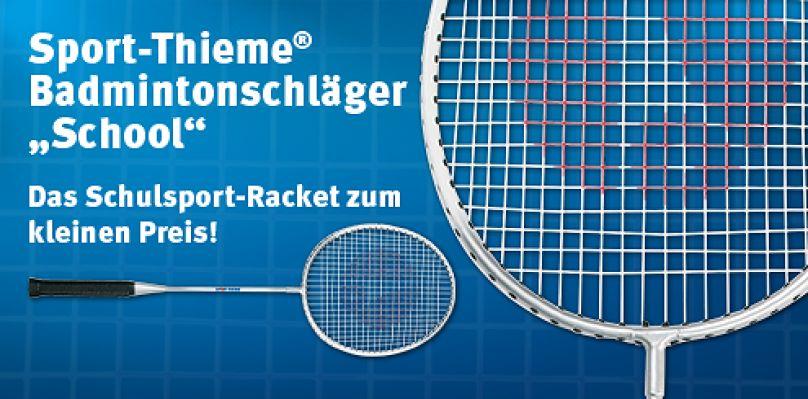 "Sport-Thieme Badmintonschläger ""School"""