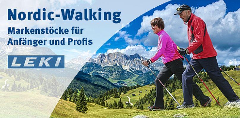 Nordic Walking. Markenstöcke in grosser Auswahl bei Sport-Thieme!