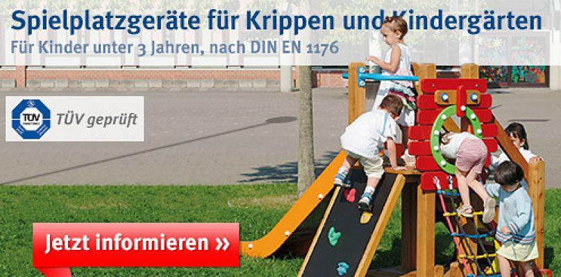 Spielplatzgeräte für Kleinkinder U3