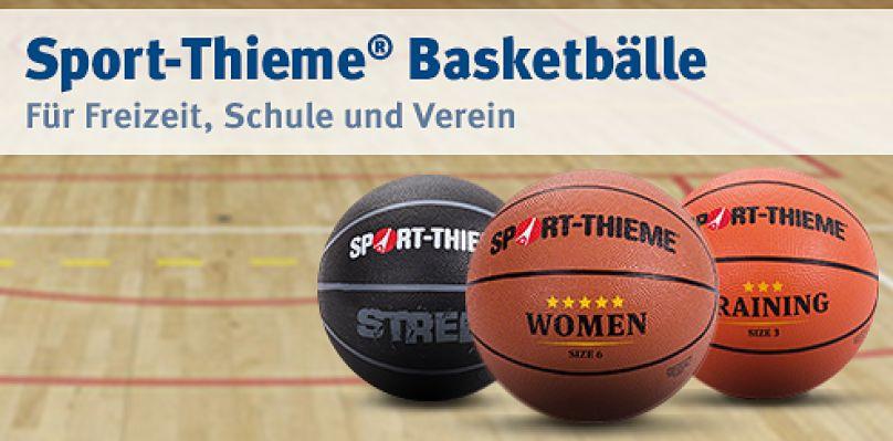 Sport-Thieme Basketbälle - Für Freizeit, Schule und Verein